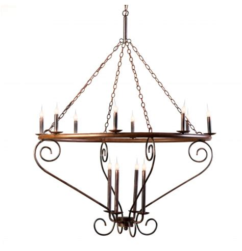 scroll chandelier for sale cottage bungalow