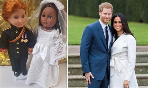 prince harry meghan markle wedding dolls royal news