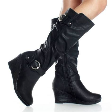 womens motorcycle riding boots details about riding motorcycle tall equestrian buckle