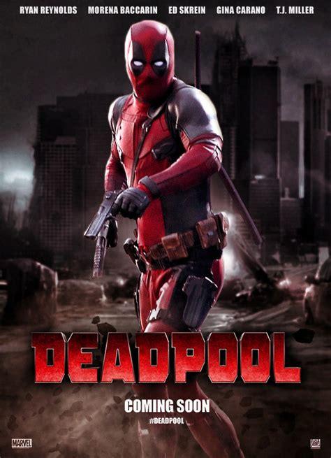 film marvel 2016 deadpool 2016 super heroes movie posters pinterest