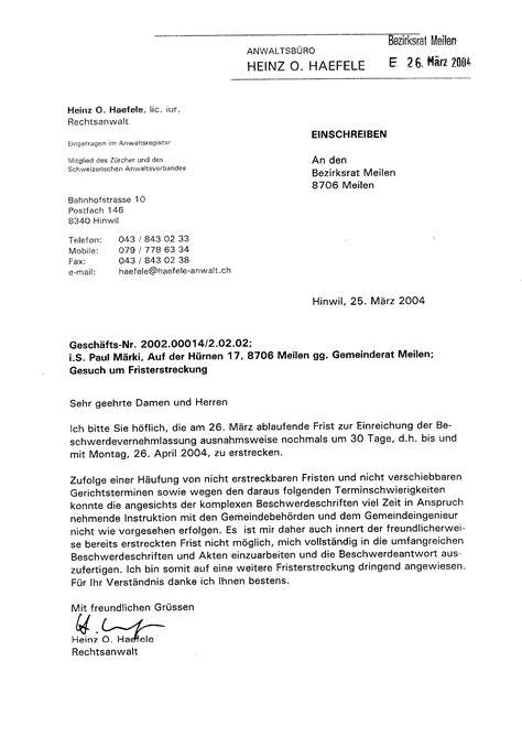 Rekurs Brief Schreiben Ebener Durstweg F 252 R Das Alterszentrum Platten