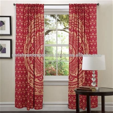 indian tapestry curtains traditional tapestry curtains indian mandala curtains
