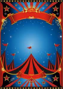 vintage style circus poster design vector 01 vector