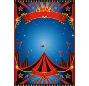 Vintage Style Circus Poster Design Vector 01  Cover Free