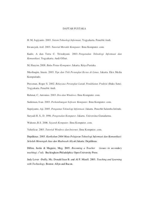 Pengenalan Teknologi Komputer Dan Informasi Penerbit makalah perkembangan dan manfaat teknologi komputer serta dak tekn