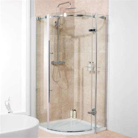 Alora 6mm 800 X 800 Frameless Hinged Door Quadrant Shower Hinged Door Shower Enclosures