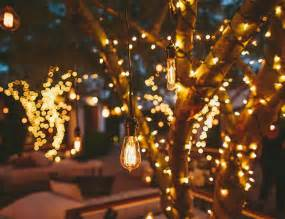 Romantic Backyard Wedding Outdoor Lighting Ideas Junique