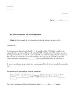 lettre de r 233 vision annuelle du loyer mod 232 le 224 remplir