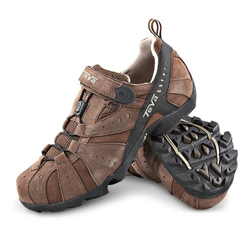 s teva 174 closer trail shoes brown 139453