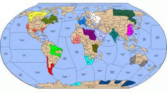 A Map Of The Whole World by Map Of Entire World Euro Info
