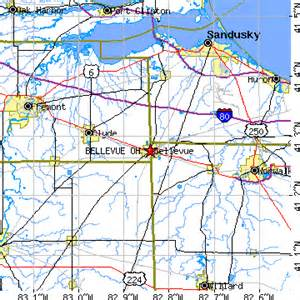 Bellevue Ohio Map bellevue ohio oh population data races housing