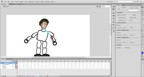 tutorial flash cs6 pdf interactivey2 flash cs6 bone tool armature tutorial