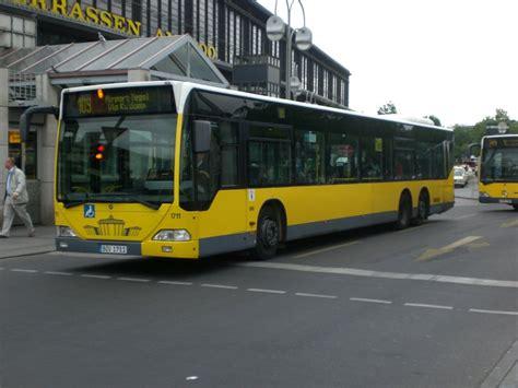 Bahnhof Zoologischer Garten Nach Tegel by Mercedes O 530 I Citaro Auf Der Linie 109 Nach