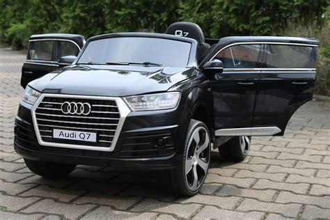 Kinder Akku Auto Audi Q7 by Kidcars Kinder Elektroautos Mit Akku Lizenz Kinder