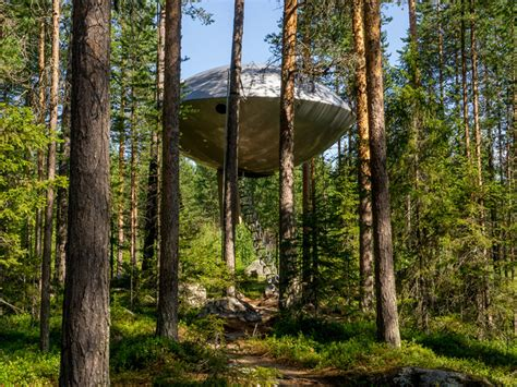 the treehotel in sweden for nature lovers 171 twistedsifter 7 most amazing unusual hotels around the world part 1
