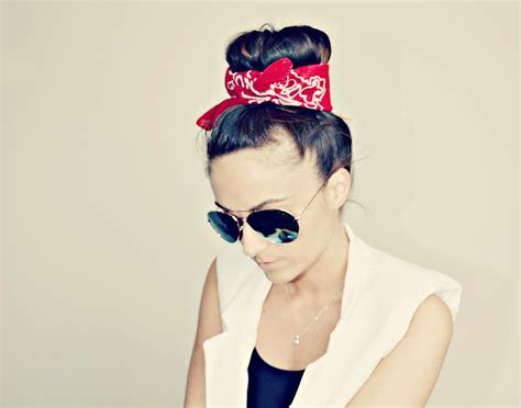 big bandana top knots and fishtail braid buns for every occasion hair world magazine