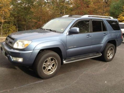 2003 Toyota 4runner Limited Find Used 2003 Toyota 4runner Limited Sport Utility 4 Door