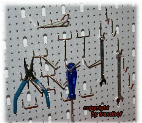 werkstatt lochwand werkstatt werkzeug haken set hakenset lochwand praktisch