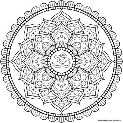 hindu mandala coloring pages 40 h 252 bsche mandala vorlagen zum ausdrucken und ausmalen