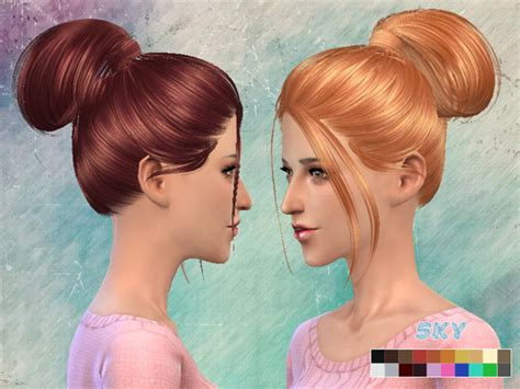 sims 4 custom content hairstyles hair 111 by skysims at tsr 187 sims 4 updates
