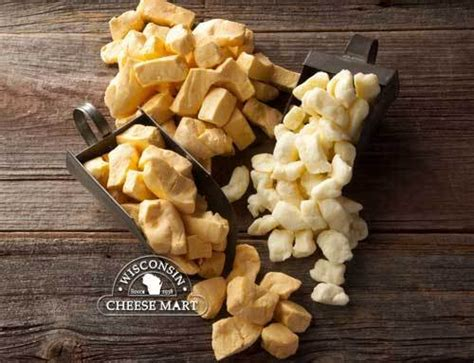 cheddar cheese curds combo  pounds wisconsin cheese mart