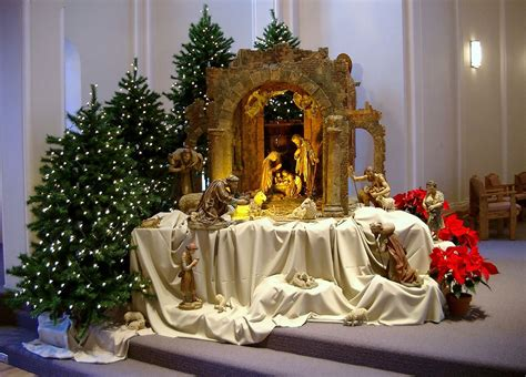 large nativity  display     ssnd campuses