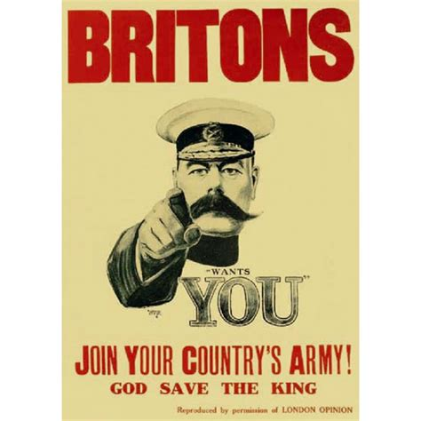 ww1 lord kitchener reproduction poster thwt36 163 7 99