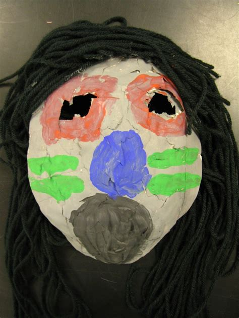 How To Make Paper Mache Masks On Your - paper mache masks