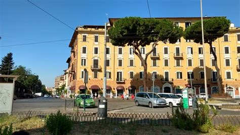 porta maggiore hotel the view of the hotel from the station right at