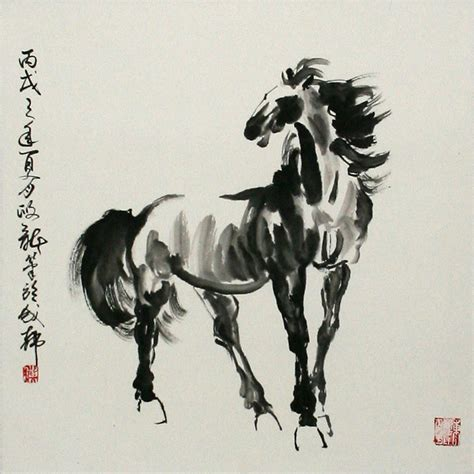 oriental horse tattoo chinese horse painting asian horse artwork chinese artwork