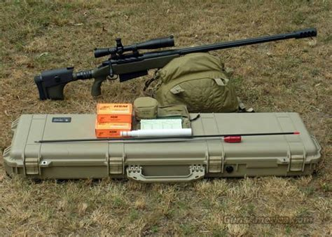 McMillan 50 BMG, Case and Accessories for sale Mcbros 50 Bmg