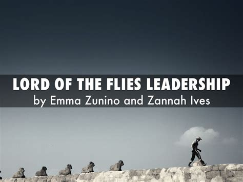 leadership themes in lord of the flies lord of the flies leadership by emmazunino3