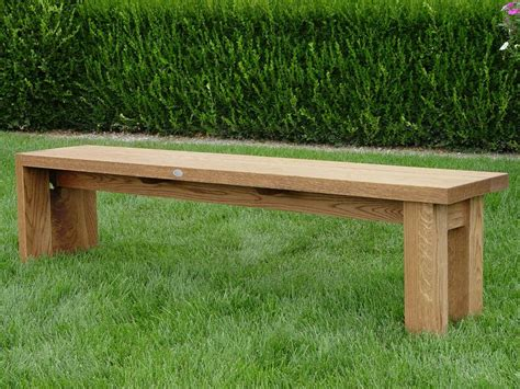 comfortable bench lawn garden simple antique plywood back less garden