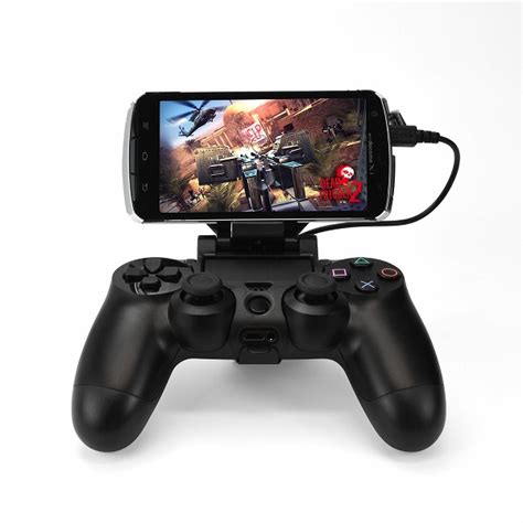 dualshock 4 android ps4 dualshock 4 smartphone attachment clip released letting you bypass those awful touch