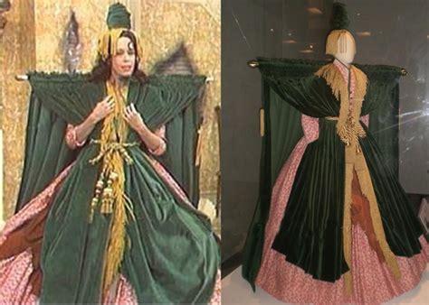curtain dress beautifully made carol burnett s curtain dress costume
