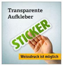 Aufkleber Drucken Lassen Transparent by Aufkleber Online Drucken Lassen Deinestadtklebt De