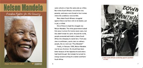 biography about nelson mandela life hameray publishing teaching materials for guided reading