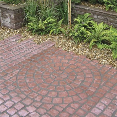 Garden Pavers by Carpet Stones Cobble Circle