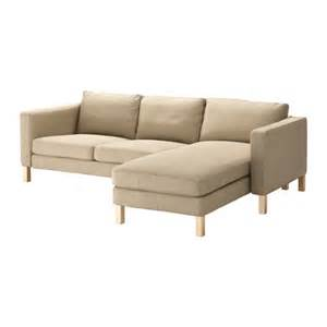 Ikea Karlstad Loveseat Karlstad Loveseat And Chaise Lounge Lind 246 Beige Ikea