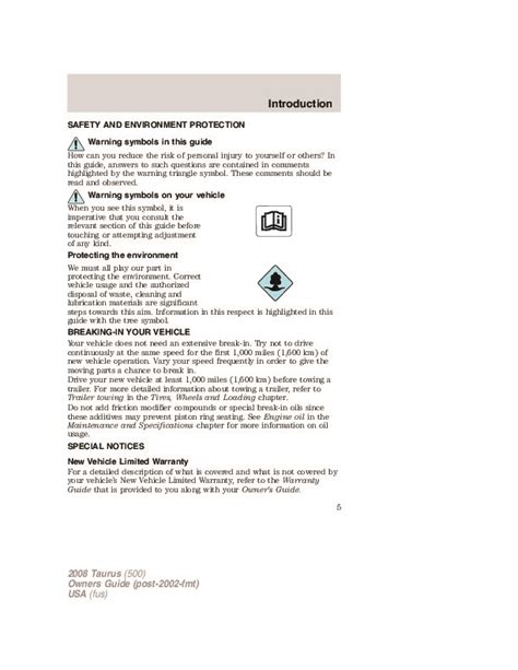 car repair manuals online pdf 2008 ford taurus navigation system 2008 ford taurus owners manual
