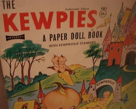 kewpie book kewpie paper doll book 1963 momsjunk ruby