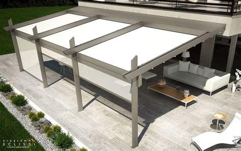 gazebo programma pergolato in alluminio con copertura scorrevole con