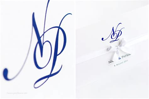 Stilvolle Hochzeitseinladungen by Stilvolle Hochzeitseinladung Mit Monogramm Design