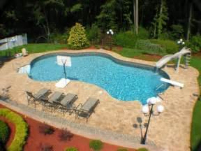 Custom stamped concrete around inground pool quotes