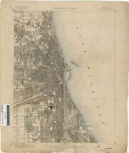 chicago map 1920 illinois historical topographic maps perry casta 241 eda map