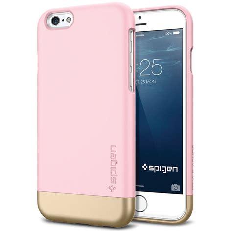 spigen style armor for iphone 6 sherbet pink sgp11044 b h