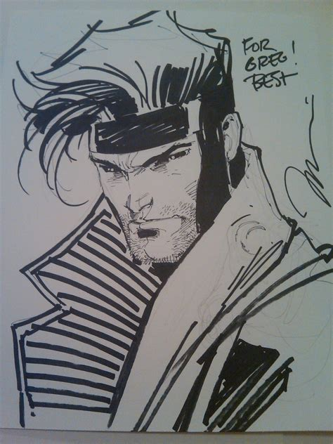 sketchbook jim gambit by jim in greg hyatt s jim gambit comic