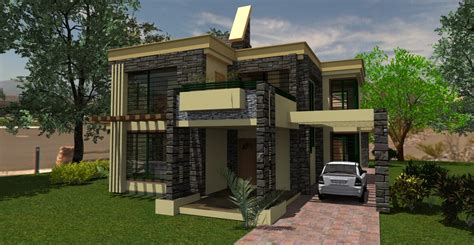 The Contemporary House Plan In Kenya Adroit Architecture Modern House Plans In Kenya