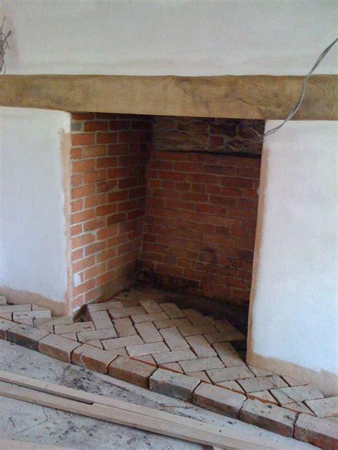Herringbone Brick Fireplace by The World S Catalog Of Ideas