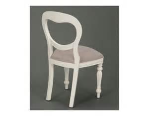 chaise m 233 daillon blanche romantique